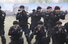 山西公安开展应对处置暴恐突发事件综合演练