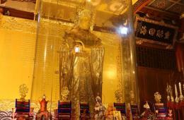 全球最大黄金妈祖金像开光 323公斤纯金打造