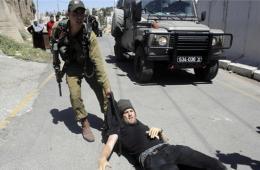 以色列士兵与巴勒斯坦民众因土地纠纷发生冲突