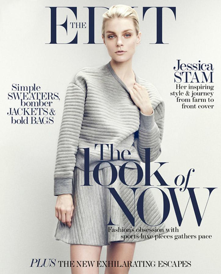 edit》杂志封面-中国品牌服装