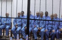 利比亚法庭开审卡扎菲政权高官