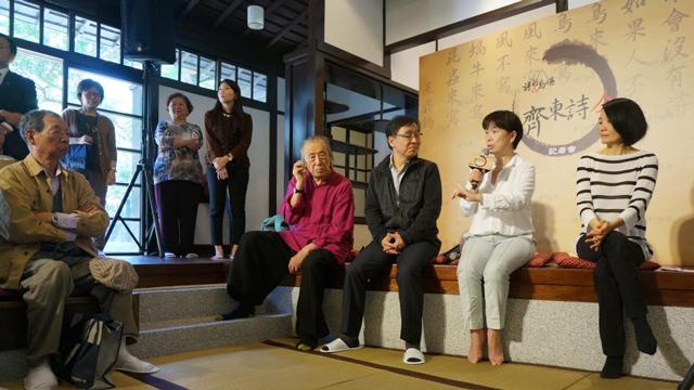 """作家""""部长""""龙应台谈台湾""""诗的复兴"""""""