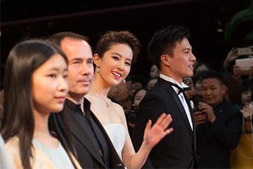 北京国际电影节开幕星光闪耀