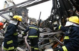 江苏如皋化工厂爆炸已致5人死亡