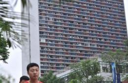 """重庆主城现""""蜂巢""""式房屋建筑"""