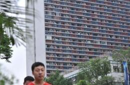 重庆主城现蜂巢式房屋建筑 住进800户人