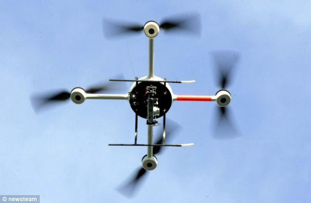 英窃贼改装无人机来偷盗大麻引关注