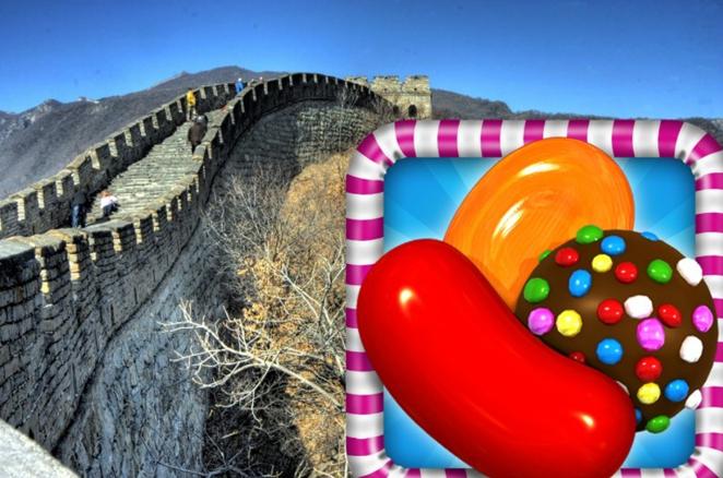 手游《糖果粉碎传奇》2014年夏将进驻微信