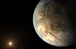 NASA首次在太阳系外发现类地行星 或存在液态水