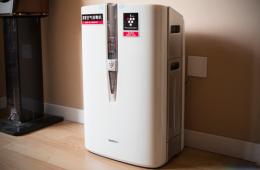 除霾+消毒 夏普W380SW空气净化器图赏