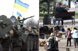 记者亲临乌被亲俄武装占领城市 局势无碍爱情与生活