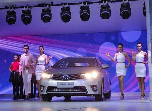"""丰田旗下的另一款在中国当地生产组装的混合动力车型(hv)""""卡罗高清图片"""