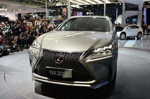 """雷克萨斯 """"NX""""系列的小型SUV车型-日媒 北京车展规模空前 日系加高清图片"""
