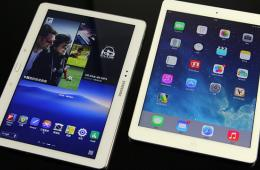 全能旗舰比拼 TabPRO 10.1对比iPad Air