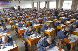 湖北武昌监狱千名服刑人员参加高等教育自学考试