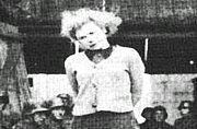 苏联女英雄被德军绞死全程