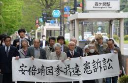 东京270多名市民要求判安倍参拜违宪