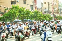 镜头记录越南胡志明市的街头巷尾