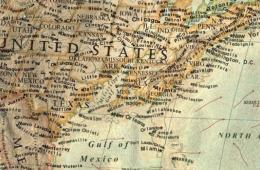 """外国画家绘南北极冰层融化后""""新世界""""地图"""