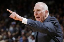 NBA宣布波波维奇当选最佳教练 名帅已三获殊荣