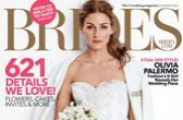奥利维亚·巴勒莫登《Brides》杂志封面