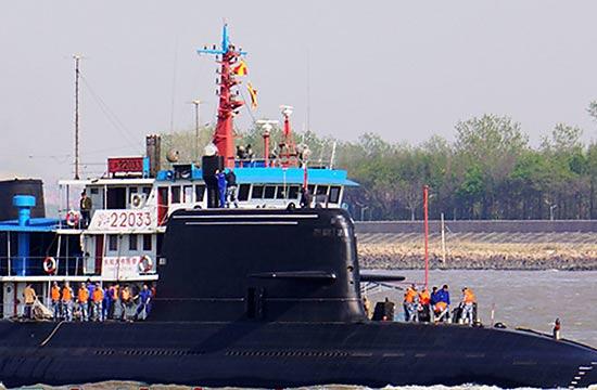 新版039B潜艇细节曝光 磁流体推进风云再起