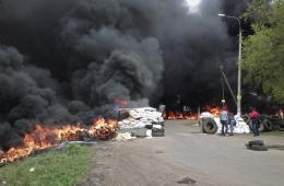 乌克兰亲俄重镇郊外爆发战斗