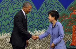 奥巴马访问韩国 归还9枚朝鲜王朝印章