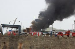 陕西延长石油炼油厂着火 3人烧伤周边群众全部撤离