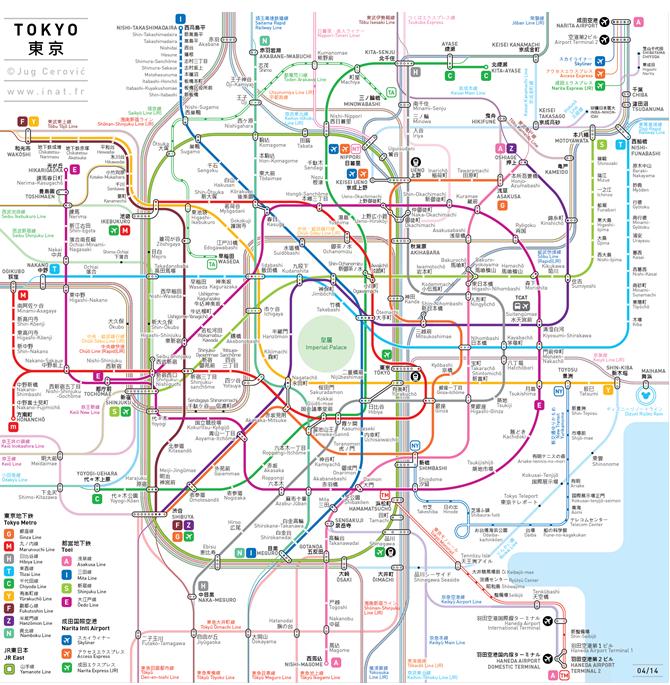 法建筑师绘制世界特大城市地铁线路图