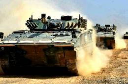 兰州军区装备我最先进步兵战车