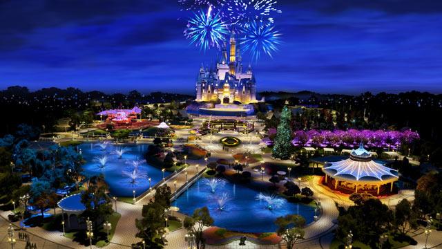 """上海迪士尼项目""""扩容"""" 开园年拟迎近千万人次"""