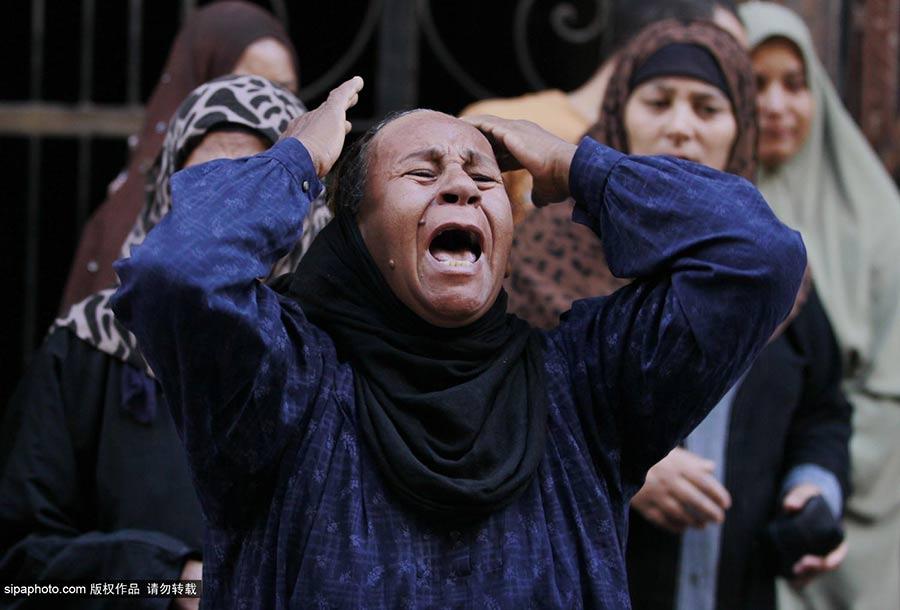 埃及判处683名穆兄会成员死刑 家属悲痛欲绝