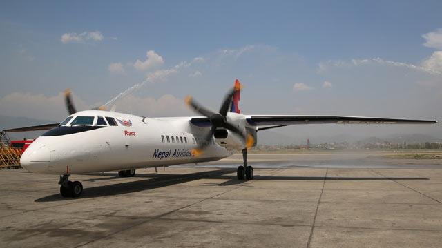 中国交付尼泊尔首架新舟60飞机