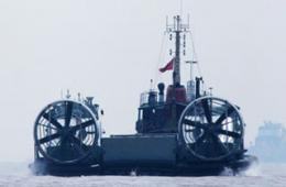 国产气垫船抓紧海试不输野牛