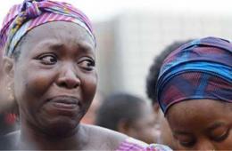 尼日利亚首都民众集会 呼吁政府尽快解救被绑架学生