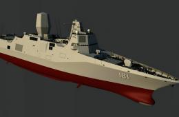 055型驱逐舰最新想象图很特别