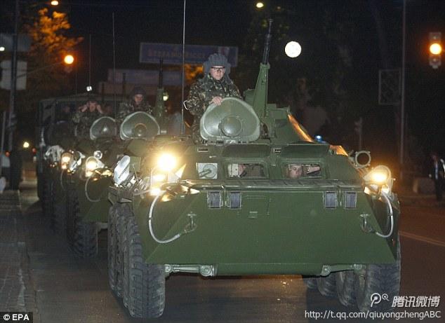 乌军举行大规模军演 安全局长领导对东部行动