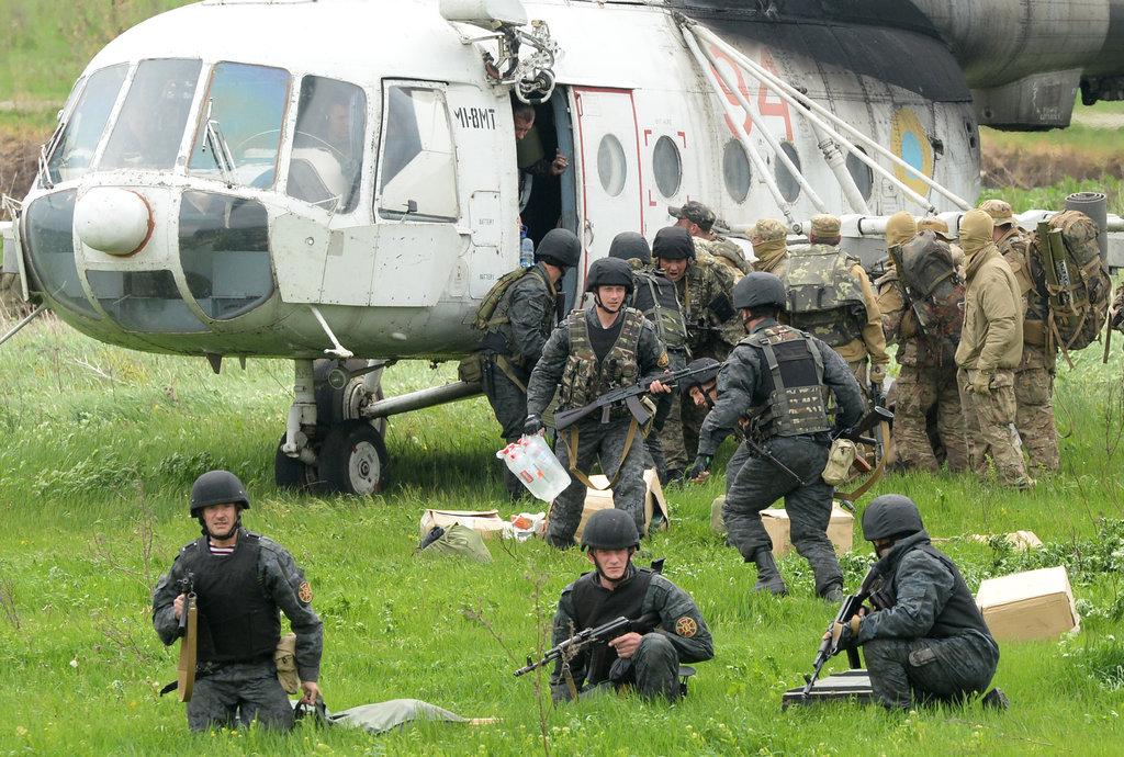 乌克兰军队大规模反攻东部