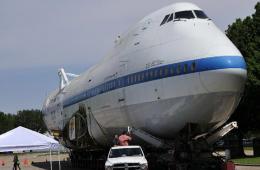 美退休航天飞机专用运输机落户休斯敦太空中心
