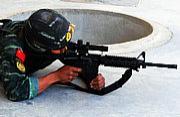 中国勇士亮相国际特种兵比武