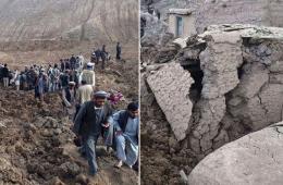 阿富汗山体滑坡致350死 至少2500人失踪