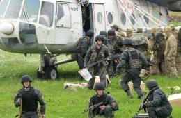 乌克兰军队大规模反攻东部被占地 军用机开火