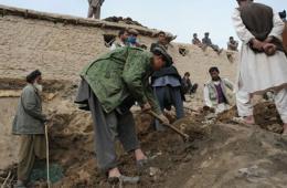 阿富汗山体滑坡或致数千人死亡