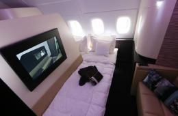 阿联酋一航空公司提供迷你套房 土豪出行新选择