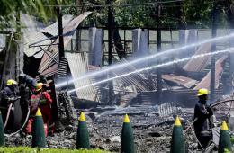 菲律宾一军火库发生爆炸 23人受伤