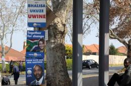 南非大选正式拉开帷幕 民众耐心排队投票