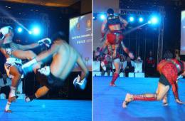 泰拳巡演在京展示泰拳传统文化 格斗精彩拳拳到肉