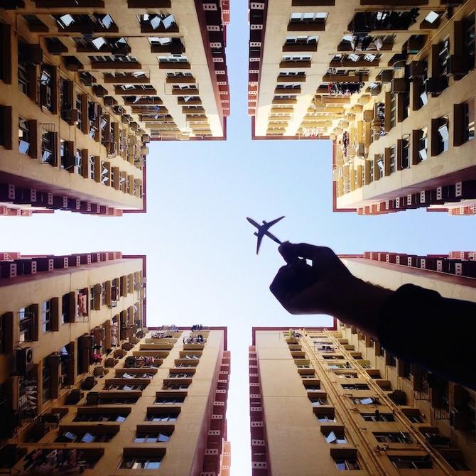 观念摄影:飞往城市的另一边
