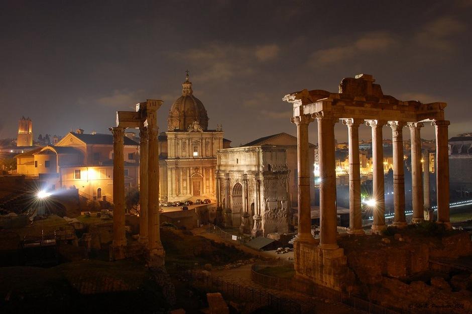 风光摄影:不朽罗马城